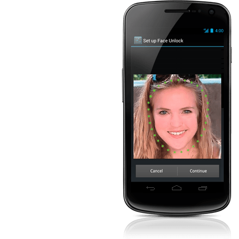 Android 4.0 ICS Reconocimiento Facial