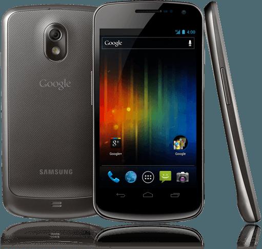 Galaxy Nexus con el nuevo Android 4.0