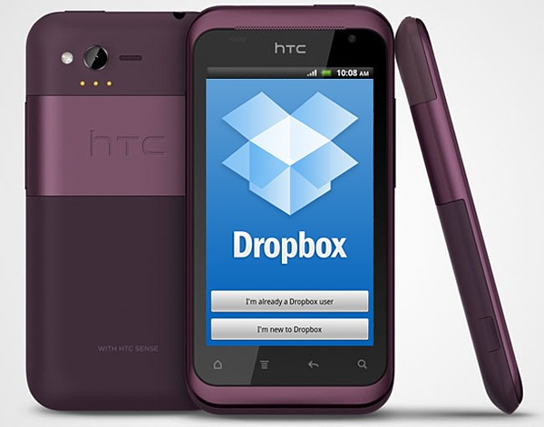 HTC Android - Dropbox 5GB gratis