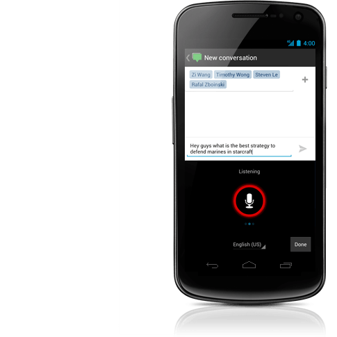 Android 4.0 ICS Control de Voz