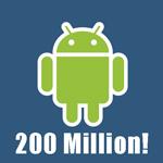 200 millones de Androids vendidos
