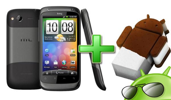 ICS en nuestro HTC Desire s
