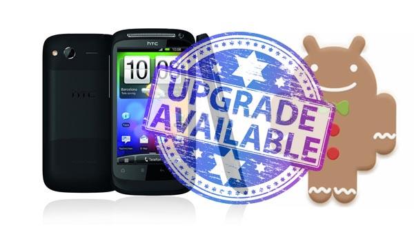 HTC Desire S actualizado a Ginger