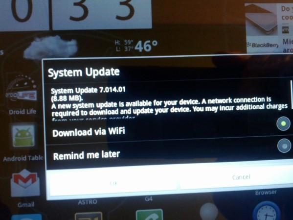 A500 actualización