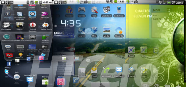tunea android con launchers