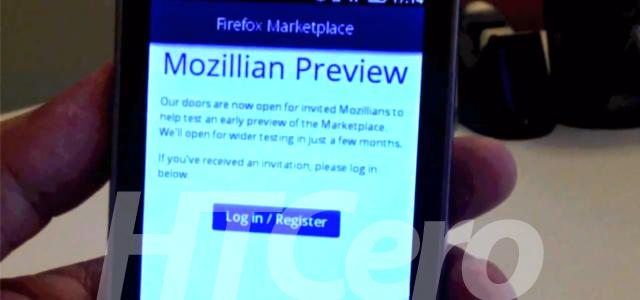 firefox os 2012 HTCero