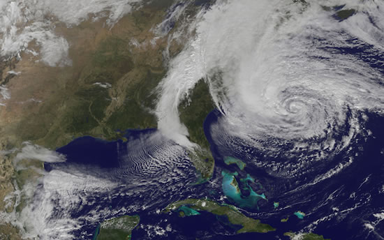 Huracan Sandy En Vivo