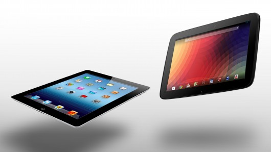 Nexus 10 vs iPad 4G