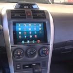 iPad Mini en vehículo