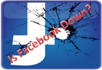 Facebook Caido 10 de Diciembre 2012