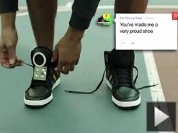 Talking Shoe, el calzado inteligente de Google1