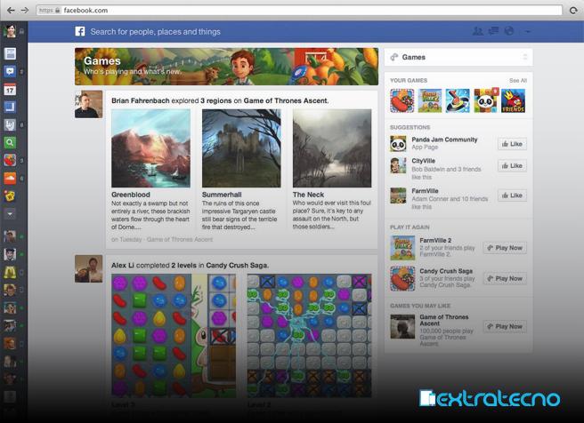 facebook cambia su timeline
