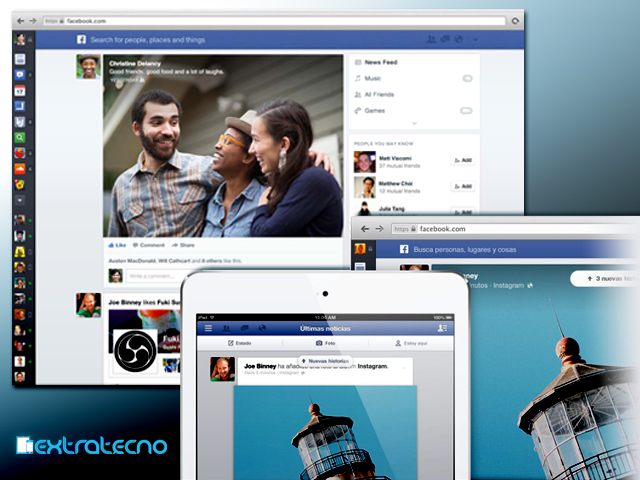 facebook cambia timeline