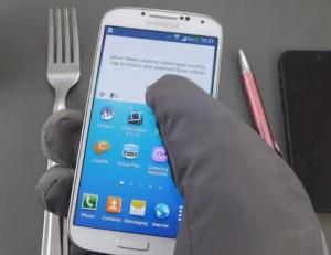 Galaxy S4-guante