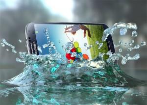 Samsung Galaxy S4, resistente al agua y polvo