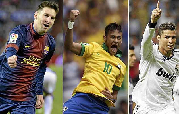 Messi vs Neymar vs Cristiano - ExtraTecno.com