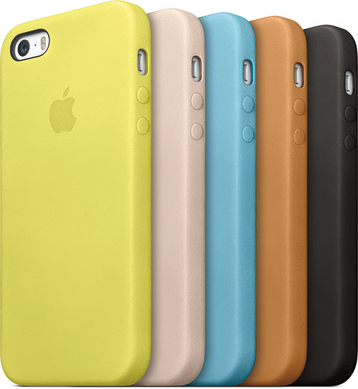 Colores iPhone 5s y iPhone 5c