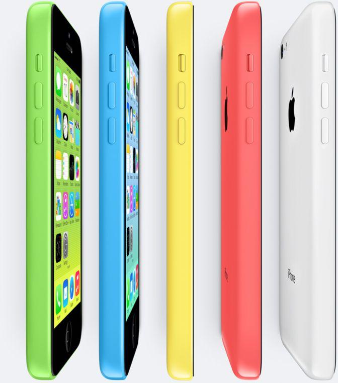 iPhone 5s y iPhone 5c