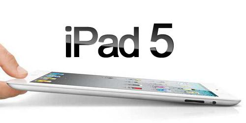 Ipad 5 lanzamiento 2013