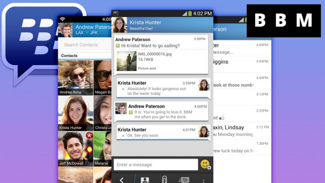BlackBerry Messenger llega a Android 2.3.3