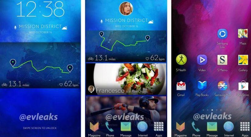 interfaz del Samsung Galaxy S5