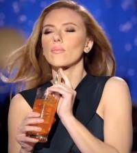 Super Bowl propaganda de Scarlett Johansson
