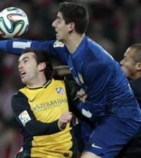 Thibaut Courtois arquero del Atletico de Madrid