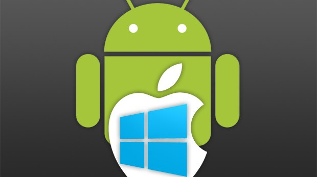 Android muy arriba de iOS y Windows Phone