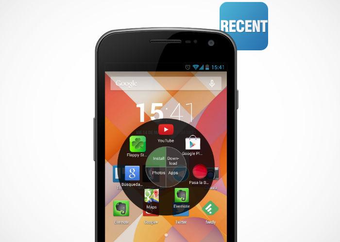 Recent, la nueva aplicación para Android.