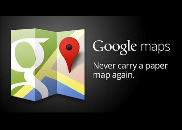 Nueva actualización del Google Maps