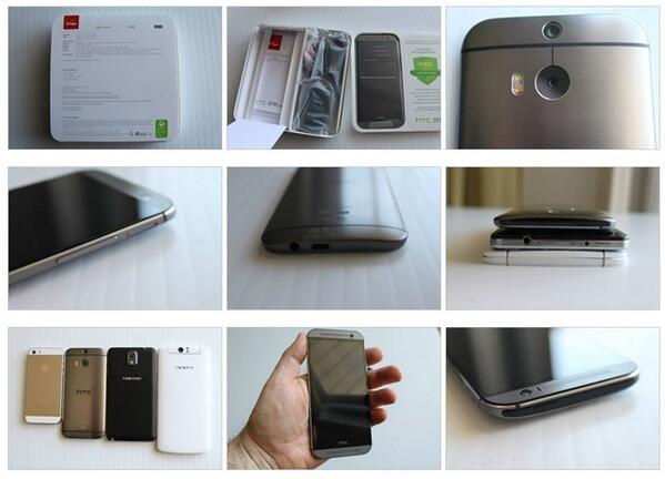 nueva cámara dual del nuevo HTC ONE m8