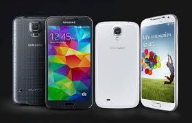 Samsung Galaxy S4 y S5 comparación de ventas