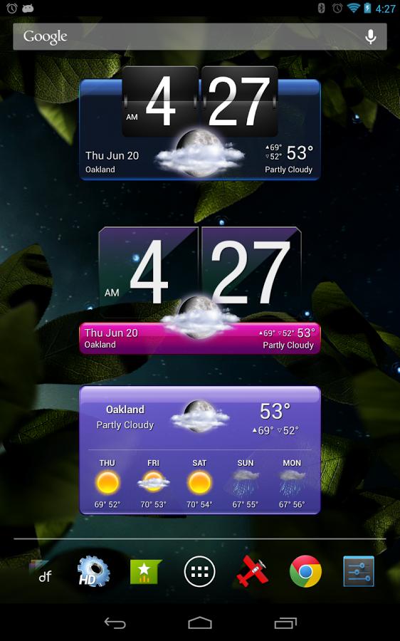 Nueva Actualización, HD Widgets 4.0