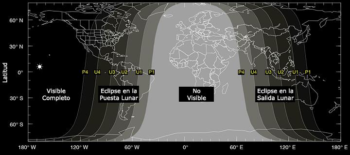 Eclipse Lunar 8 octubre 2014