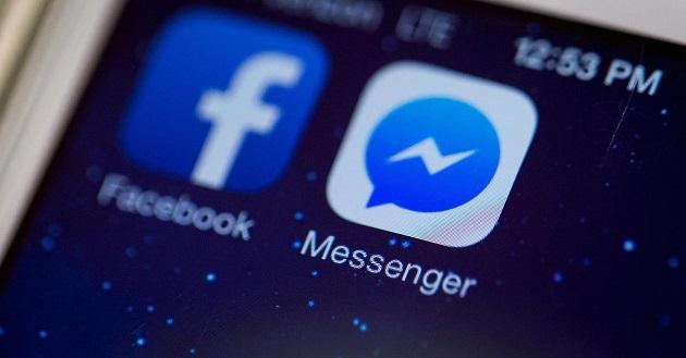 M en el Messenger de Facebook
